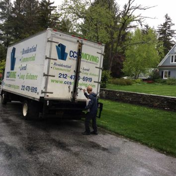 CCS Moving Truck and Movers